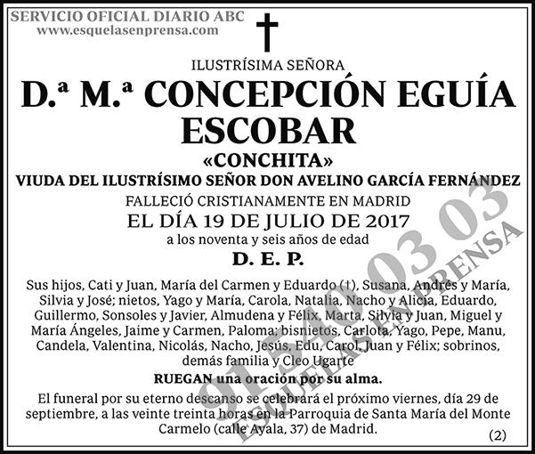 M.ª Concepción Eguía Escobar
